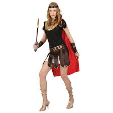 Ladies Sexy Roman Centurian Soldier Gladiator Warrior Fancy Dress Party Costume