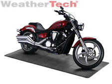 WeatherTech TechFloor Motorcycle Parking Pad Kit - 4'x8' - Solid Color Tiles