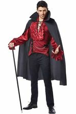 Dashing Vampire Dracula Adult Halloween Costume