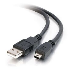 1.5FT USB 2.0 A Male to mini B 5 pin MALE cable for Canon