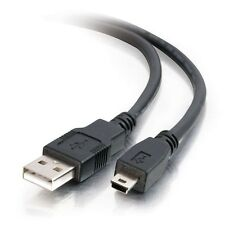 1.5 FT USB 2.0 A Male to mini B 5 pin MALE cable for Sony