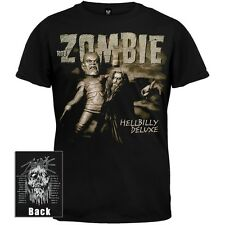 Rob Zombie - Zombie & Robot - Mens T-Shirt