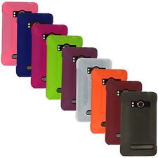 NEW AMZER RUBBER SILICONE SOFT SKIN JELLY CASE COVER FOR HTC EVO 4G