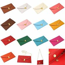 Womens Retro Envelope Clutch Chain Purse Lady Handbag Tote Shoulder Hand Bag