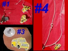 SCHOOL BUS Driver Yellow Profession Gift Occupation Kids Mother Teacher Jewelry