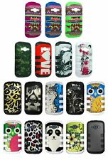 For Samsung Galaxy Ring M840 Prevail 2 Cover Tuff Shield Double Layer Case