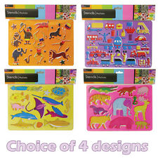 Art And Craft Stencil For Kids ~ Let your children get creative