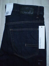 Calvin Klein Straight Cut Mid Straight Leg Mens Jeans Size 34 X 32, 36 X 30 New