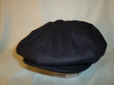 NAVY BLUE RETRO 1920;S 1930'S VICTORIAN EDWARDIAN  PEAKY BLINDERS STYLE CAP