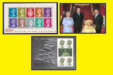 2000 Miniature Sheet Issues of Great Britain MS2146, MS2147 & MS2161 Mint nh
