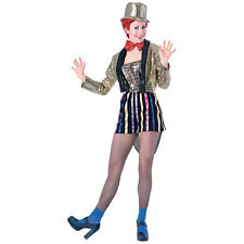 WOMENS COLUMBIA ROCKY HORROR ADULT FANCY DRESS COSTUME 2 SIZES HALLOWEEN