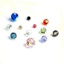 48pcs /72pcs Swarovski Crystal Elements 5000 Round Faceted Bead Many Color  Size