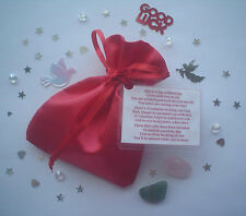BAG OF BLESSINGS FOR GOOD LUCK ON YOUR TRAVELS / GAP YEAR!  GIFT BAG/CARD