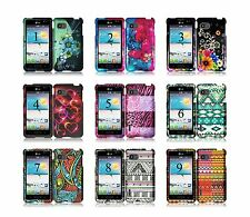 for LG Optimus F3 Solid and Aztec Design Cell Phone Case Cover Accessory MS659