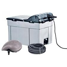 Garden Pond Filter - Pump - UV Light & Hose /Fittings All In One Complete System