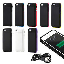 2500mAh Extended Battery Power Case External Backup Charger for iPhone 5 / 5S