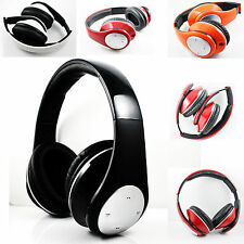 Noise Canceling Stereo Wireless Bluetooth Headphone Earphone For Iphone 5C 4S 4G