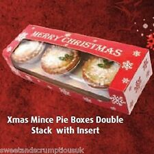 Christmas cake boxes & Mince pie boxes - Multiple listing  FREE P&P
