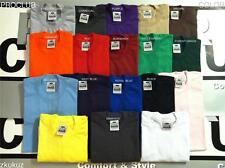2 NEW PROCLUB HEAVY WEIGHT T-SHIRT COLOR PLAIN PRO CLUB TEE BLANK S-5XL 2PC