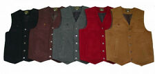 "Warm Cowboy Western ""Wyoming"" Style Wool Four Pocket Vest New Wyoming Traders"