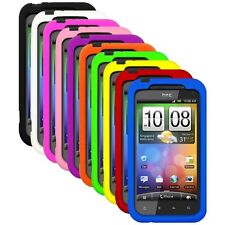 Silicone Soft Rubber Skin Cover Case for HTC Droid Incredible 2 / 6350