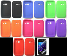 Samsung Galaxy Centura SCH-S738C Phone Cover SILICONE Case + SCREEN PROTECTOR