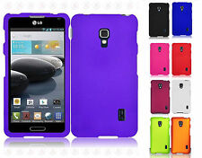 For LG Optimus F6 D500 MS500 Rubberized HARD Protector Case Snap on Phone Cover