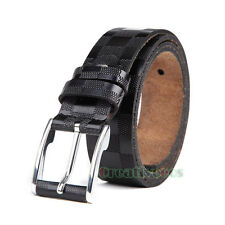 Men's Genuine Leather Fashion Casual Waist Strap Waistband Needle Buckles Belts