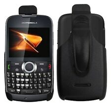 Black Holster Cover Case w/ Rotating Belt Clip for Motorola Theory / WX430