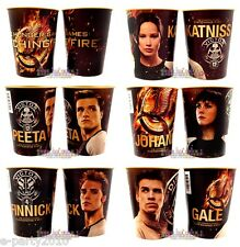 (2) HUNGER GAMES CATCHING FIRE Plastic KEEPSAKE CUPS ~ Birthday PARTY SUPPLIES
