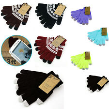 Unisex Capacitive Touch Screen Gloves Winter Warm for iPhone Samsung Smart Phone