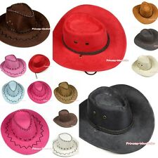 Western Cowboy XMAS Halloween Party Costume Hat Headgear Adult Cosplay