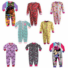 Girls Onesie | Girls Character All In One PJs | Fr 12 Mths to 13 Yrs | NEW W/TAG