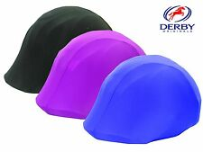 Derby Originals Equestrian Helmet Cover Lycra Riding Helmet Select Any Color