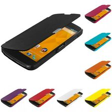 For LG Google Nexus 4 E960 Wallet Magnetic Leather Front Magnetic Case Cover