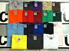 3 NEW PROCLUB HEAVY WEIGHT T-SHIRT COLOR PLAIN PRO CLUB TEE BLANK S-3XL 3PC