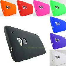 for HTC One Maxx T6 Soft Silicone Gel Rubber Skin Phone Case Cover+PryTool
