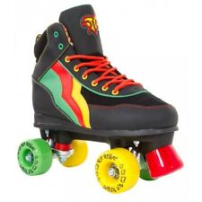SFR Rio Roller Guava Kids/Adult Quad Roller Skates - Black Yellow Red Green