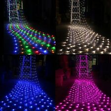 100/300 LED Net String Fairy Light Christmas Valentine's Party Wedding 110V