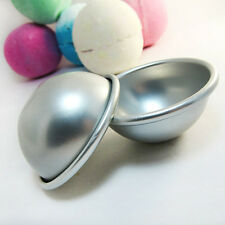 3 Sizes Bath Bomb Ball Sphere Pan Cake Mold Baking Jelly Tin Decorating Tool NEW