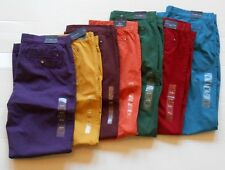 Tommy Hilfiger Mens Light Weight Cotton Slim Fit Chino Pants 7 Colors Available