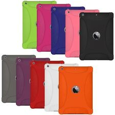 AMZER SOFT SILICONE SKIN JELLY GEL CASE COVER FOR APPLE iPAD AIR