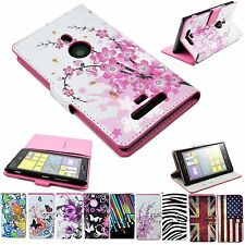 Card Holder Wallet Flip Leather Mobie Phone Pouch Cover Case For Nokia Lumia 925