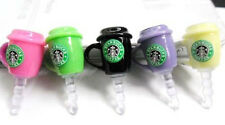 8 Color Fashion Cup for apple iPhone4/5/6 3.5mm Earphone Ear Cap Dust Plug