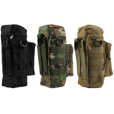 Molle Zipper Camo Water Bottle Utility Medic Pouch w Small Mess Pouch