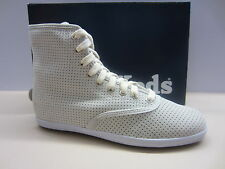 Keds Women CH Perf White Hi-Top Lace Ankle Boot