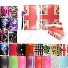 "Universal New PU Leather Case Fits Tesco Hudl 7"" Inch Tablets Smart Cover+Stylus"