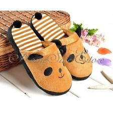 Winter Coral Velvet Warm Cute Soft Anti-slip Panda Home Slippers Shoes With Tail