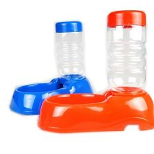 New Plastic Cat Dog Pet Water Auto Drinking Fountain Bottle Bowl Portable 350ML