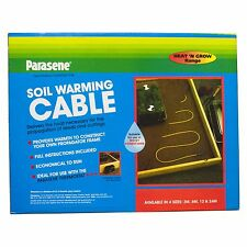 Soil Warming / Heating Cable 3m 6m 12m 24m 48m Propagators Greenhouse Coldframe